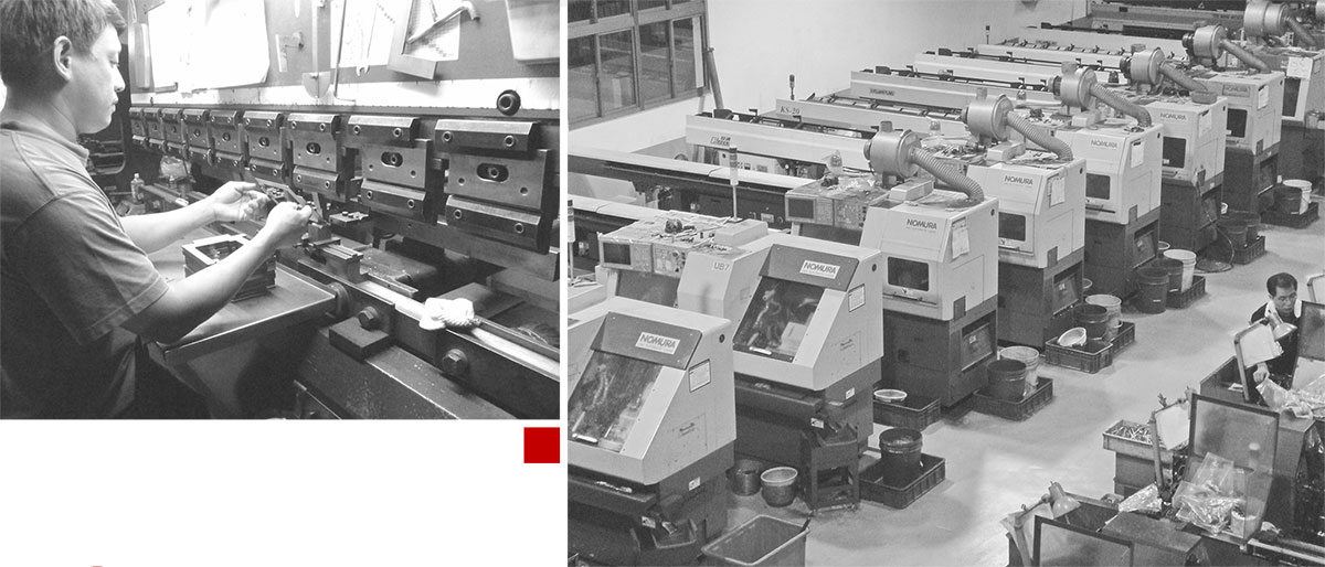 APPORO CNC ISO9001 Certification : Build our own standard operation procedures
