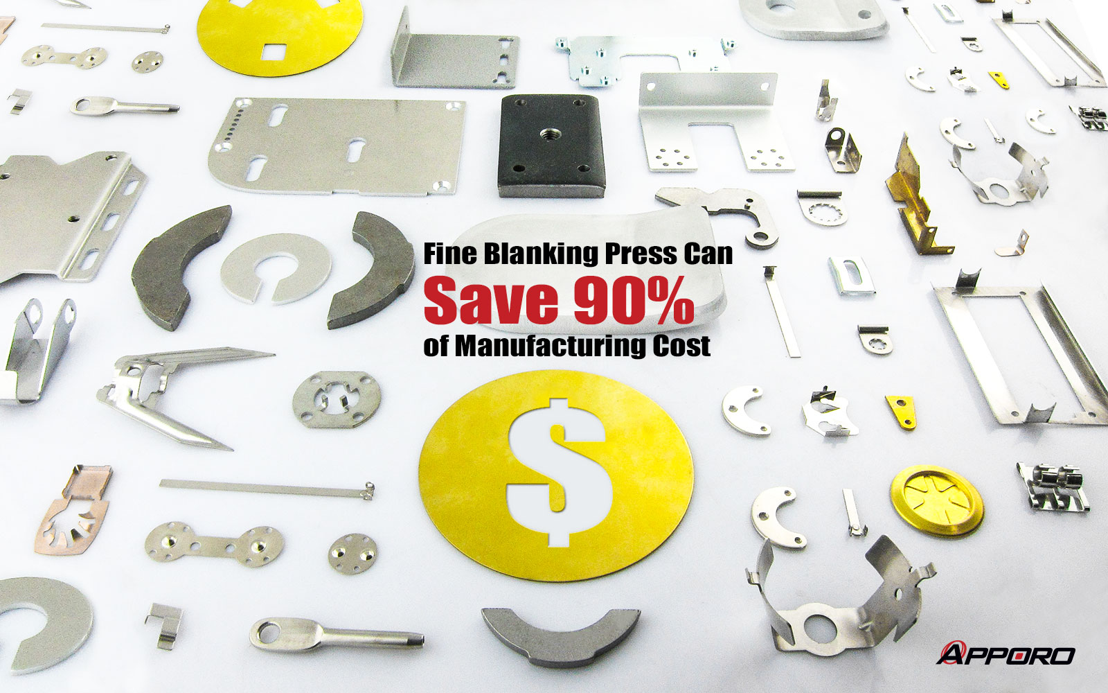 Fine Blanking Press Can Save 90% of Manufacturing Cost