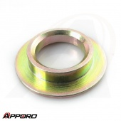 Yellow Zinc Plated Round Washer Spacer Sleeve