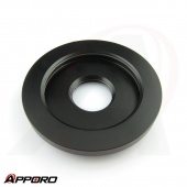 Black Delrin POM Analytical Transmitter Petrochemical Valve Sensor Tank Cover Cap 02