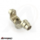 Nickel Plated T Shape Connector Valve Body Part 02