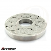 Precision Manufacturing Stainless Steel 316 Round Groove Face Flange Plate