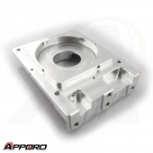 APPORO CNC Milling Machining Aluminum Alloy 6061 T6 Natural Anodized Camera Housing 03