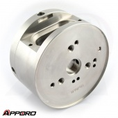 CNC Stainless Steel 316L Fitting Adapter Housing