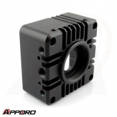 CNC Milling Anodized Camera Front Cover
