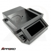 Taiwan OEM Customized Precision Plastic Injection Mold Black ABS Housing Box Front Cover 03