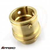 APPORO OEM CNC Turning Manufacturer Brass C3604 Adapter Insert Sleeve 03