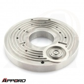 APPORO CNC Milling Presicion Manufacturing Stainless Steel 316 Round Groove Face Flange Plate 03