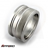 APPORO OEM CNC Turning Part Stainless Steel 316L Transducer Magnet Sleeve Housing 02