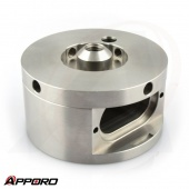 APPORO CNC Milling Parts Stainless Steel 316L Fitting Adapter Housing 04