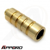 APPORO OEM CNC Turning Part Brass C3604 Electric Current Connector 04