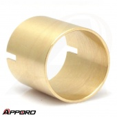 CNC Machining Services Brass Tube Coupler Shield